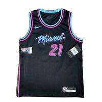 Nike NBA Miami Heat Vice City Swingman Jersey #21 WHITESIDE Youth Women's M RARE