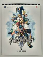 Guia oficial Piggyback Kingdom Hearts 2 Español Nueva Playstation 2 Ps2