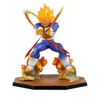 Final Flash PVC Action Figure  Super Saiyan Vegeta Battle State Dragon Ball Z A0