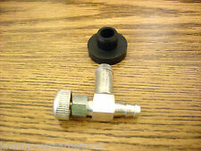 Walker Fuel Shut Off Valve with Rubber Bushing Grommet 104047, 46-6560 lawnmower