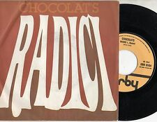CHOCOLAT'S disco 45 giri MADE in ITALY Radici + Nostalgia STAMPA ITALIANA 1978