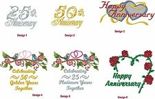 New Anniversary Afghan Embroidered Free4U GreatKeepsake Personalized UrWay