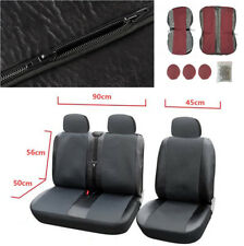 1+2 Seat Covers Car Seat Cover for Transporter Van Truck Interior Accessories