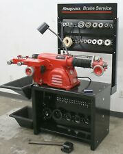 Very NICE Ammco 4100 Heavy Duty Disc and Drum Brake Lathe Loaded w/ Adapter Kit