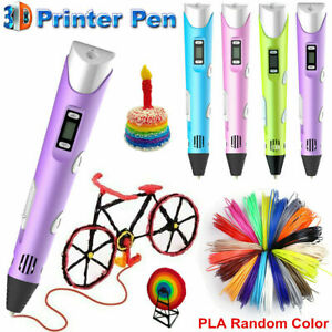 3D Printing Pen Crafting Drawing Arts Printer Tool Modeling ABS PLA Filament