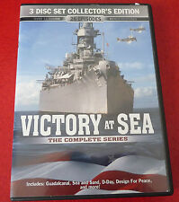 DVD Movie Victory at Sea The Complete Series ! 3 Disc Set - 26 Episodes -