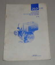 Teilekatalog / Ersatzteilliste ILO Motoren L 101 Stand 01/1976
