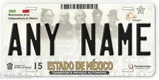 State Of Mexico Estado de Any Name Number Novelty Auto Car License Plate C02