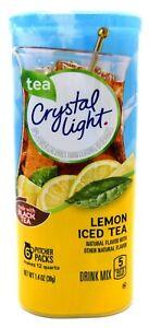 24 12-Quart Canisters Crystal Light Lemon Iced Tea Drink Mix