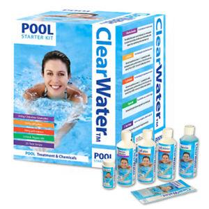 ClearWater Pool Starter Kit Hot Tub Water Treatment Chlorine Granules Chemical