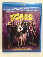 Pitch Perfect (Blu-Ray+DVD, 2012) Anna Kendrick, Skylar Astin, Rebel Wilson, +++