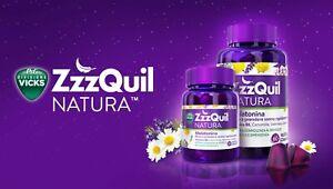 Vicks ZzzQuil Natura Integratore Alimentare Favorisce il sonno