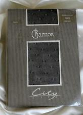 Charnos City Life Ultra Velato Nero Contrasto PUNTI COLLANT Collant Moda