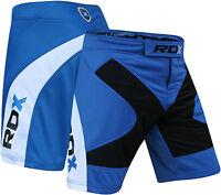 RDX MMA Shorts Men Muay Thai Grappling Kick Boxing Gym Wear Fighting Short W