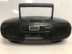 JVC RC-X540 CD Portable System Boom Box Cassette Player Stereo CD #546