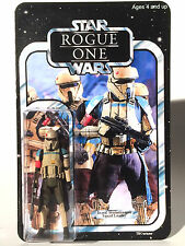 Star Wars - Rogue One - Custom Carded Scarif Stormtrooper Squad Leader