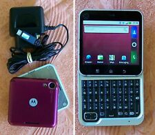Original  Motorola Flipout MB511 Swivel QWERTY Android Smartphone (no aura w550)