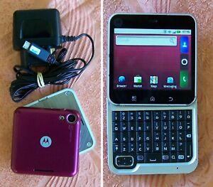 Original  Motorola Flipout MB511 Swivel QWERTY Android Smartphone (no aura w550)