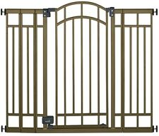 Child Toddler Safety Gate 36 in. Swing Closed Auto Close Secure Doorway Fit