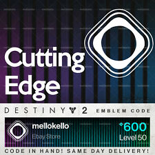 Destiny 2 Cutting Edge Emblem!! SAME DAY DELIVERY!!