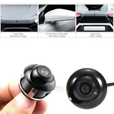 Mini Waterproof 360° CCD HD Car Front Side Reverse Camera Rear View Parking Cam