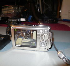 Olympus Stylus 770 SW 7.1 MP Digital Point & Shoot Camera with battery & charger