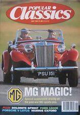 Popular Classics 05/1992 featuring MG, Lotus, Porsche 914, Triumph, Morris