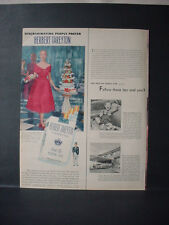1952 Mrs Mackenzie Pringle Herbert Tareyton Cigarette Vintage Print Ad 11101