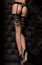 WOMEN'S LADIES SEXY GLAMOROUS PRETTY SEAMED PATTERNED HOLD-UPS