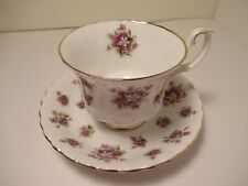 """ROYAL ALBERT ENGLISH CHINA CUP&SAUCER  """"SWEET VIOLETS  VERY PRETTY EXC. COND!"""