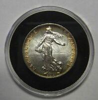 1919 France Silver 2 Two Francs Grading Superb Gem BU A Stunning Coin    j2