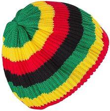 JAMAICAN RASTA HAT BOB MARLEY CARIBBEAN BERET CAP HATS