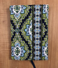 Vera Bradley Cambridge Retired Pattern 2008 Book Cover Small Tablet Sleeve Blue
