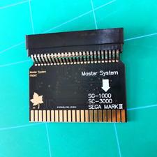 SG-1000 SC-3000 Adapter Sega Master System to Sega MARK III SMS Card work JPN/MS