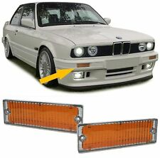Front bumper turn light indicator reflectors FOR BMW 3 series E30 89-93