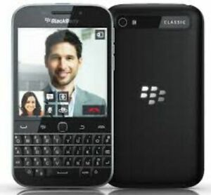 BLACKBERRY CLASSIC Q20 3G MOBILE PHONE - UNLOCKED WITH NEW CHARGAR AND WARRANTY