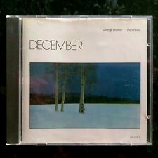 George Winston - December Piano Solos - Windham Hill Records - Near Mint CD