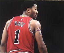 Derek Rose Chicago Bulls/ Cleveland Cavaliers Signed 11x14 Photo