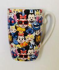 New Disney Parks Emoji Character Ceramic Hot Coffee Mug / Cup 16 oz Mickey