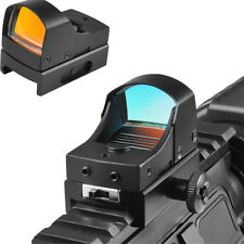 Micro Red Dot Sight Scope Mini Compact Holographic For Hunting Rifle&Pistol