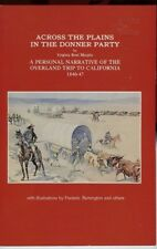 California History - Across Plains Donner Party - Overland Trip Booklet