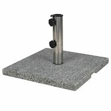 Support pour Parasol 20kg Granite Acier Inoxydable Schirmfuß Porte-Parapluie