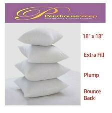 "2 PACK -18 Inch Cushion Inner Sofa Cushion Pads Chunky Filler Inserts 18""x18"""