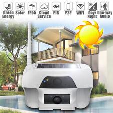 Outdoor Solar Powered Wireless WIFI IP Surveillance Security Camera Night Vision