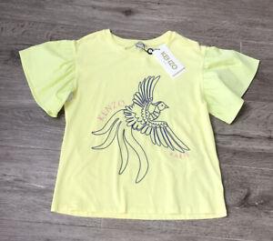 Kenzo Girls T Shirt Age 8 Yrs BNWT