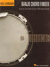 Grifftabelle Akkordverzeichnis Chord Finder für Banjo A4