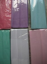 "Lot 6 PASTEL Headbands 2"" wide continuous stretch LOT Nylon colors"