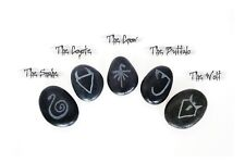 The Darkness - Cursed Animal Spirit Stones Prop Replicas - Carved River Rocks