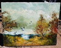 Prescott, signed oil/canvas 20 x 24, mystery artist