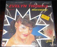 """Evelyn Thomas, High Energy, VG/VG++ 7"""" Single 0868-5"""